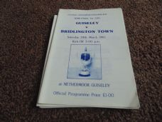 Guiseley v Bridlington Town, 1989/90 [FAV]